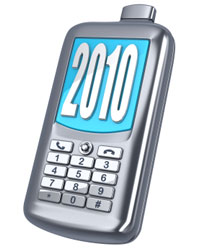 New Year - Mobile Phone