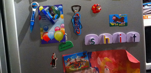 Fridge Spelling 1